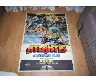 WARLORDS OF ATLANTIS YABANCI SİNEMA FİLM AFİŞİ