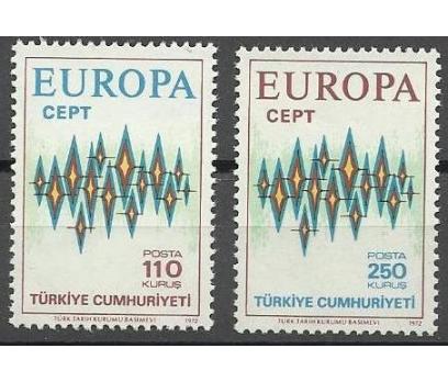 DAMGASIZ 1972 CEPT SERİSİ
