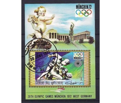 1971 Umm Al Qiwain Olimpiyatlar Damgalı