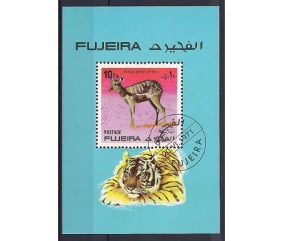 1971 Fujeira Hayvanlar Blok Damgalı