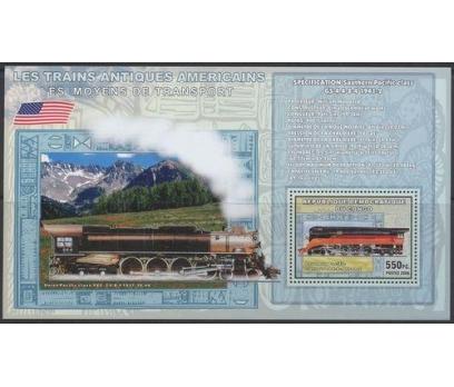 2006 Kongo Antik Amerikan Trenleri Blok Dantelli