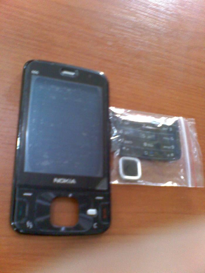 NOKİA N96 orjinal ön kapak+alt üst tuş+ekran cam 1