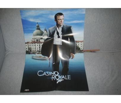 CASINO ROYAL 007 JAMES BOND YABANCI SİNEMA AFİŞ