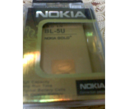 NOKIA BL-5U ORJ GOLD GÜÇLÜ BATARYA-E66,8900,3120