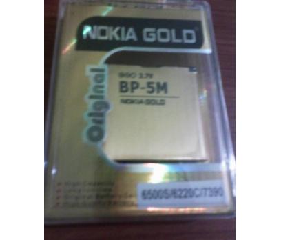NOKİA BP-5M GOLD BATARYA GÜÇLENDİRLMİŞ/6500s...