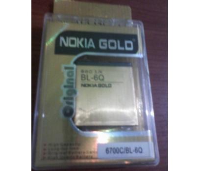 NOKİA BP-6Q GOLD BATARYA GÜÇLENDİRLMİŞ/6700C