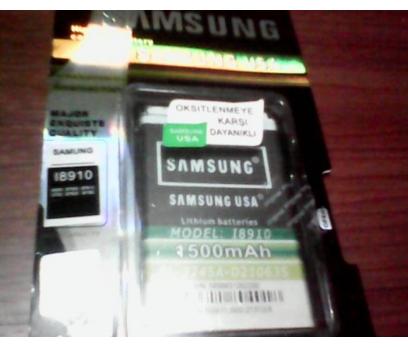 SAMSUNG S8500,İ8910 %100 USA BATARYA+1500mAh