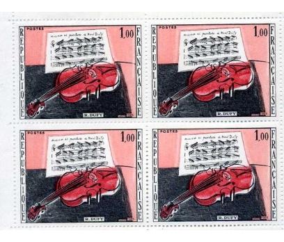 FRANSA ** 1965 TABLOLAR TAM TABAKA SÜPER (0713) 2