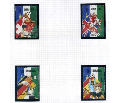 SİERRA LEONE ** 1990 FUTBOL 4 VALÖR (0813)