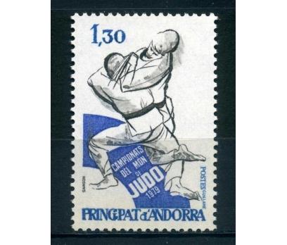FR. ANDORRA **1979 JUDO ŞAMPİYONASI TAM SERİ SÜPER