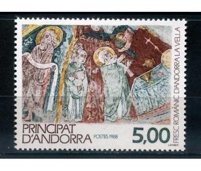 FR. ANDORRA ** 1988 DİNİ TABLO TAM SERİ SÜPER