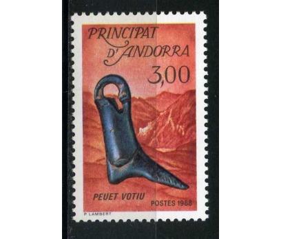 FR. ANDORRA ** 1988 KÜLTÜR TAM SERİ SÜPER