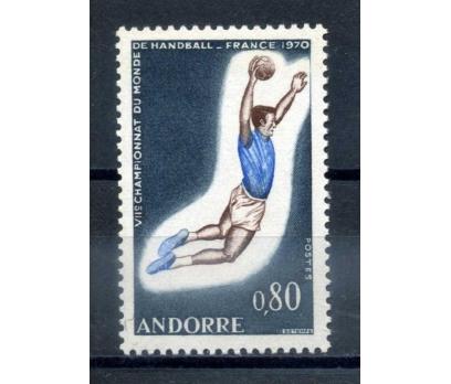 FR.ANDORRA ** 1970 HENTBOL ŞAMP. TAM S.SÜPER