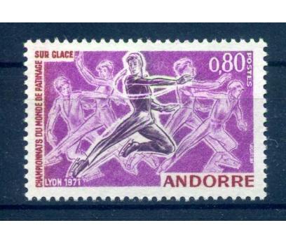 FR.ANDORRA ** 1971 AVR.PATİNAJ ŞAMP.TAM S.SÜPER