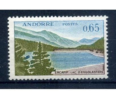 FRANSIZ ANDORRA ** 1961 Michel 172 depare SÜPER