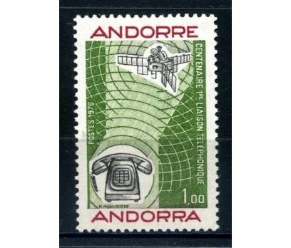 FRANSIZ ANDORRA ** 1976 TELEFON 100.Y  TAM S.SÜPER