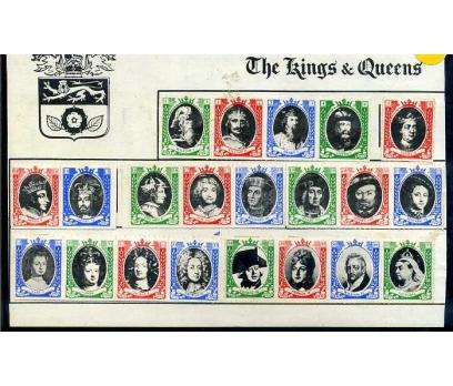 İNGİLTERE VİNYET KRAL & KRALİÇELER SÜPER (SB-0913)