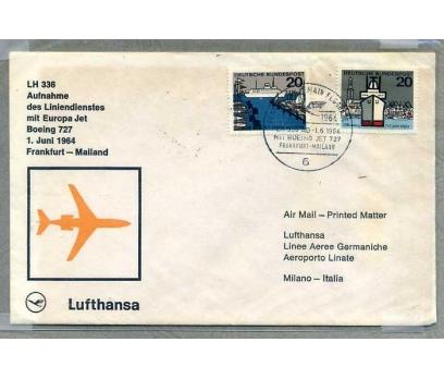 LUFTHANSA FRANKFURT-MİLANO İLK UÇUŞ (SB-0913)