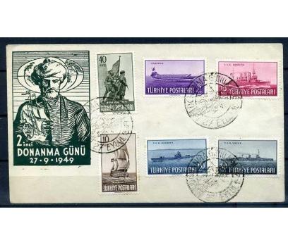 CUMH.ÖZEL DAMGA 1949 DONANMA GÜNÜ SÜPER (İF-0913)
