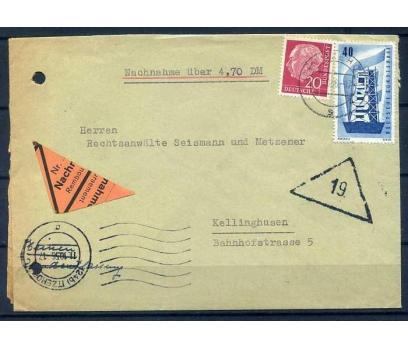ALM-ÖD 1956 E.CEPT PUL.AVR.YAN T. SÜPER (SB-0913)