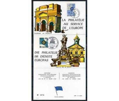 ALMANYA-FR -ÖD 1968 EUROPA YAN TEMA SÜPER(SB-0913)