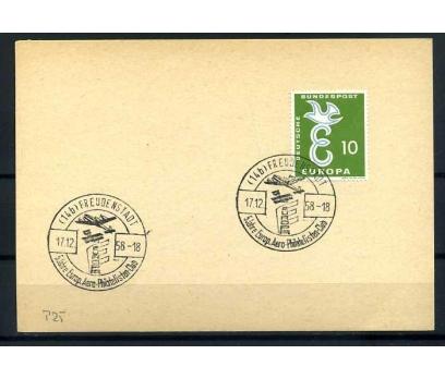 ALMANYA -ÖD 1958 EUROPA YAN TEMA SÜPER (SB-0913)