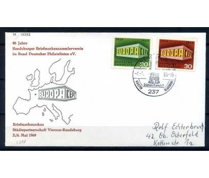 ALMANYA-ÖD 1969 EUROPA YAN TEMA SÜPER(SB-0913)