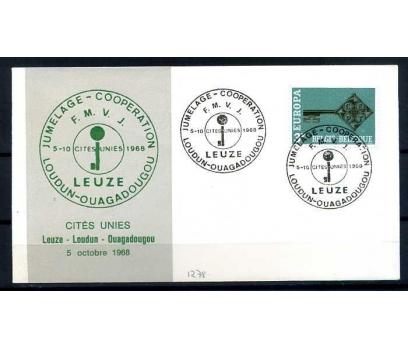 BELÇİKA-ÖD 1968 EUROPA YAN TEMA SÜPER(SB-0913)