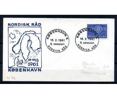 DANİMARKA -ÖD 1961 EUROPA YAN TEMA SÜPER (SB-0913)