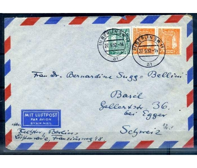 DP-ÖD 1952 KLASİK PUL.AVR.YAN T. SÜPER (SB-0913)