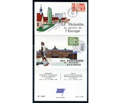 FRANSA-ALM-ÖD 1966 EUROPA YAN TEMA SÜPER (SB-0913)