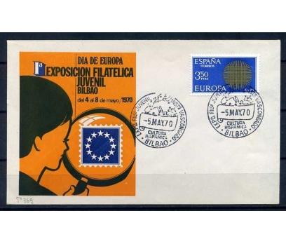 İSPANYA-ÖD 1970 EUROPA YAN TEMA SÜPER (SB-0913)