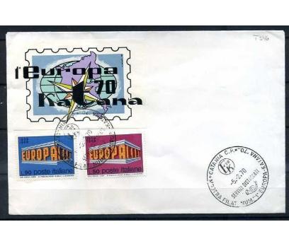 İTALYA-ÖD 1970 EUROPA YAN TEMA VİNYETLE (SB-0913)
