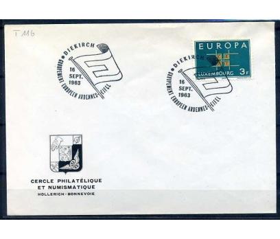 LUKSEMBURG -ÖD 1963 EUROPA YAN TEMA SÜPER(SB-0913)