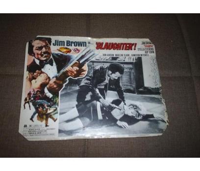 Slaughter Jim Brown  FİLM LOBİ KARTI