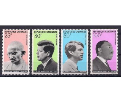 1969 Fransa Gabon Barış Elçileri Damgasız**