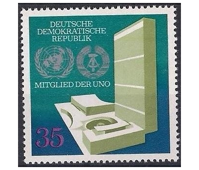 1973 DDR U.N.O. Üyeliği Damgasız **