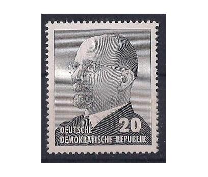 1973 DDR W. Ulbricht Damgasız **