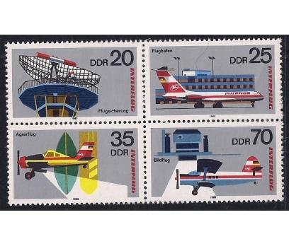 1980 DDR Havacılık Damgasız **