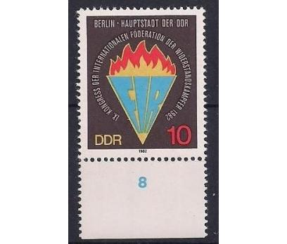 1982 DDR Fır Kongresi Damgasız **