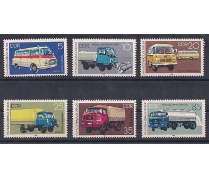1982 DDR Otomobiller Damgasız **