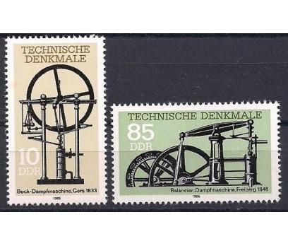 1985 DDR Buhar Makinaları  Damgasız **