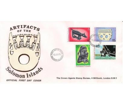 1976 Solomon Adaları El Sanatları Fdc