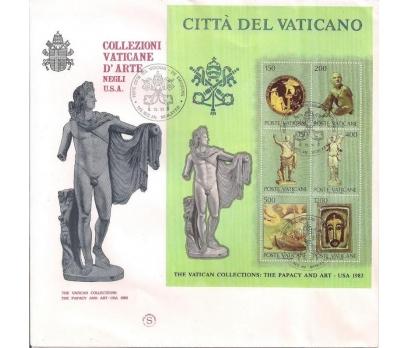 1983 Vatikan Sanat Buluşması Fdc