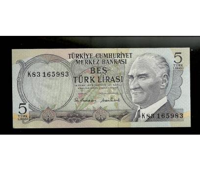D&K- 6.EMİSYON 5 LİRA SERİ K83 165983 ÇİL.