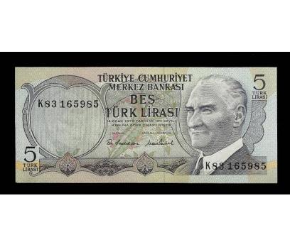 D&K- 6.EMİSYON 5 LİRA SERİ K83 165985 ÇİL.
