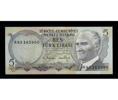 D&K- 6.EMİSYON 5 LİRA SERİ K83 165990 ÇİL.