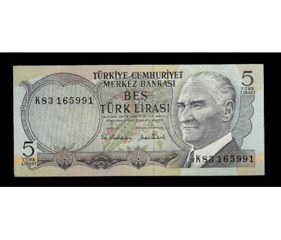 D&K- 6.EMİSYON 5 LİRA SERİ K83 165991 ÇİL.