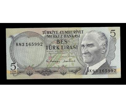 D&K- 6.EMİSYON 5 LİRA SERİ K83 165992 ÇİL.