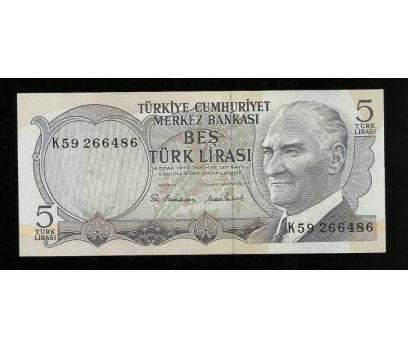 D&K- 6.EMİSYON 5 LİRA SERİSİ K59 266486 ÇİL.